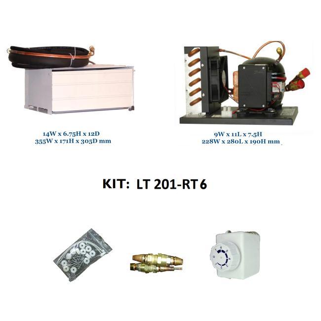 Ice Box Conversion Kit W Formed Box 12ft Cu Nova Kool