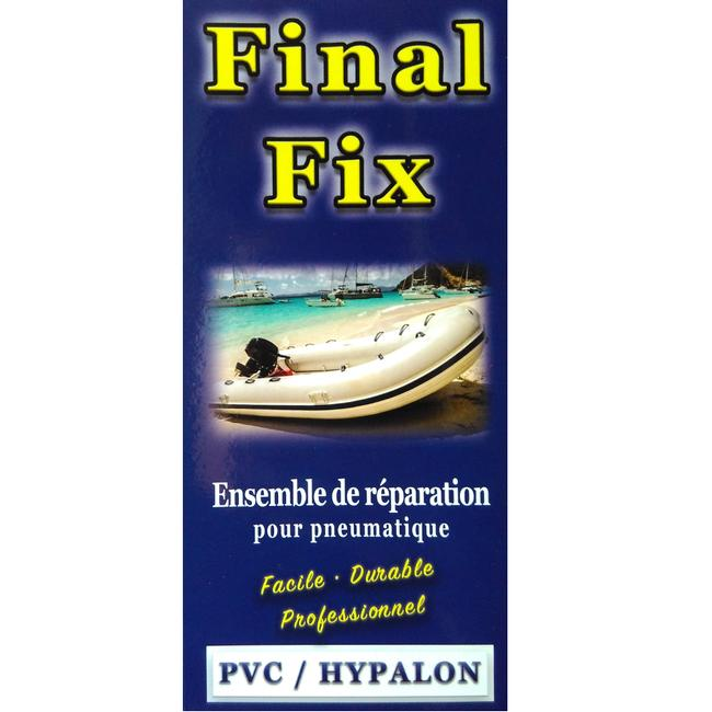 FINAL FIX KIT- Inflatable Boat Repair -PVC & Hypalon