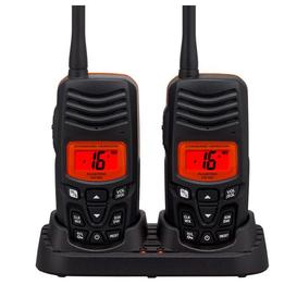 Twin Pack VHF Floating Handheld Radio- HX100 Standard Horizon