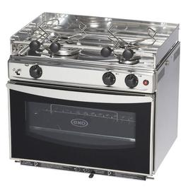 2 Burner with GRILL Propane Gas Stove Oven-OPEN SEA ENO (14134)