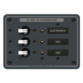Traditional Metal DC Panel - 3 Positions-Blue Sea (8025)